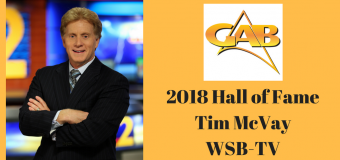 2018 GAB Hall of Fame Inductee Tim McVay