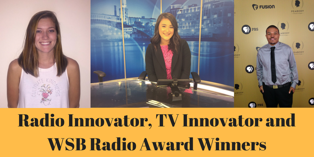 WSB Radio Award Winner, TV and Radio Innovator Awards