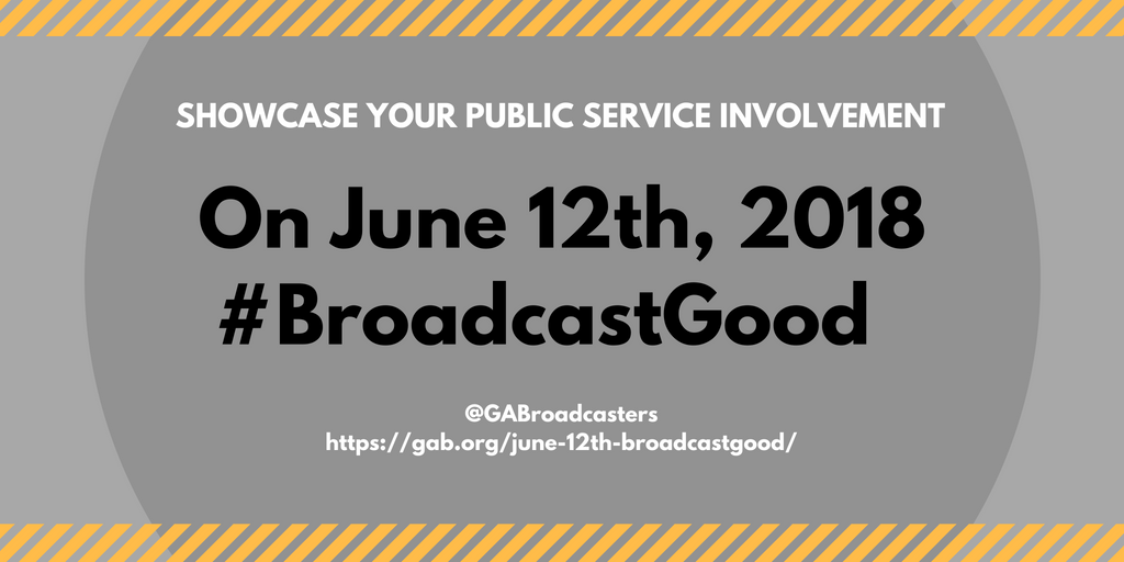 June 12th #BroadcastGood
